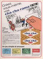 Publicité Papier CHA-CHA TINTIN 1968 SP1052892 - Pubblicitari