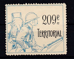 Vignette Militaire Delandre !! 209 E  Territorial   Plusieurs Vignettes En Vente ) - Military Heritage