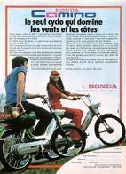 Publicité Papier CYCLOMOTEUR HONDA CAMINO 1977 SP1053052 - Werbung