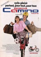 Publicité Papier CYCLOMOTEUR HONDA CAMINO 1979 SP1053142 - Werbung