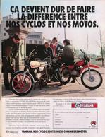 Publicité Papier CYCLOMOTEUR YAMAHA TD50M TY50M F1DX 1979 SP1053138 - Publicités