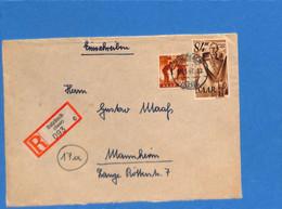 Saar 1947 Lettre De Sulzbach (G2673) - Lettres & Documents