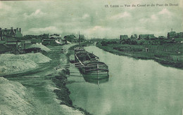 62 - Lens (Pas-de-Calais) - Vue Du Canal Et Du Pont De Douai - Lens