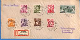 Saar 1947 Lettre De Reisbach (G2687) - Lettres & Documents