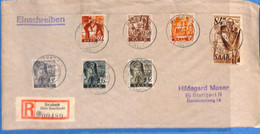 Saar 1947 Lettre De Reisbach (G2689) - Lettres & Documents
