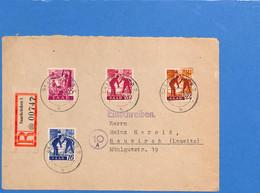 Saar 1947 Lettre De Saarbrücken (G2695) - Lettres & Documents