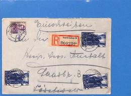 Saar 1948 Lettre De Saarbrücken (G2696) - Lettres & Documents