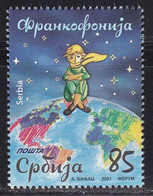 Serbia 2021 Francophonie Le Petit Prince The Little Prince France Stamp MNH - Serbia
