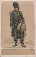 MILITARIA Armée Belge Belgisch Leger Belgian Army Grenadiers Soldat Soldier Soldaat Uniform 1914 WW1 WWI World War 1 I - Uniformen