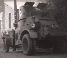 C.1950 Camion Militaire Blindé Photo 6x9cm - Cars