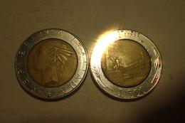 Monnaie, Italie, 1988 - 500 LIRE KM 111 - 500 Lire