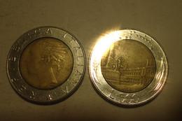 Monnaie, Italie, 1986 - 500 LIRE KM 111 - 500 Lire