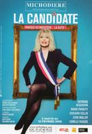 CPM - K - THEATRE DE LA MICHAUDIERE - PARIS - LA CANDIDATE - AMANDA LEAR - RAYMOND ACQUAVIVA - MARIE PAROUTY - Théâtre