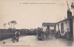OROUET: Grande Route- Les écoles Et Le Bureau De Tabac - Other Municipalities