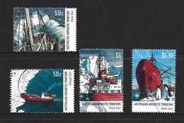 Australian Antarctic Territory 2003 Supply Ships Set Of 4 Singles FU - Used Stamps