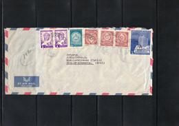 Paraguay Interesting Airmail Registered Letter - Paraguay