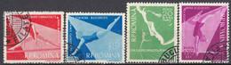 ROMANIA - 1957 - Serie Completa Usata: Yvert 1511/1514, 4 Valori, Come Da Immagine. - Oblitérés