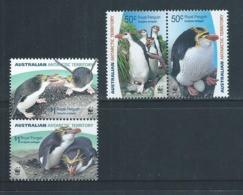 Australian Antarctic Territory 2007 Royal Penguins Set Of 2 Pairs MNH - Unused Stamps