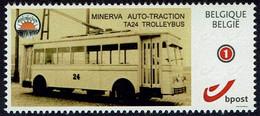 Belgie Belgien 2021 - Minerva Auto-Traction TA24 Trolleybus - OBP 4183a (2015) - Bussen