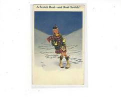 THEME    ILLUSTRATEUR A SCOTCH REEL AND REAL SCOTCH  PAR REG CARTER     **       A  SAISIR  *** - Autres Illustrateurs