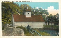 Plandome Mills Port Washington Long Island NY White Border Not Posted NM - Long Island