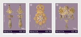 Malta  MNH ** 2021  Euromed 2021 - Handcrafted Jewellery In The Mediterranean - Malta