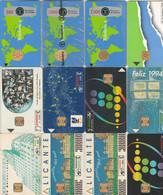 Espagne   COLLECTION DE 120 TELECARTES  1989/2002 LUXE   10 Scans - Collezioni