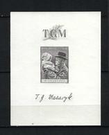 TCHEKOSLOVAQUIE Blocs & Feuillets 1938: Bloc Neuf** - Blocs-feuillets