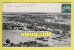 52 HAUTE MARNE / BOLOGNE / VUE AÉRIENNE DES VILLAGES DE ROÔCOURT ET DE BOLOGNE / 1910 - Other Municipalities
