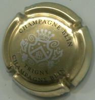 CAPSULE-CHAMPAGNE BLIN R. & FILS N°20d Or Argent & Noir - Other