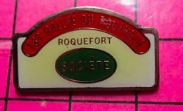 717 Pin's Pins / Beau Et Rare / THEME : AUTOMOBILES / 18e RALLYE DU ROUERGUE ROQUEFORT SOCIETE - Rallye