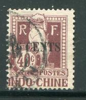 INDOCHINE- Taxe Y&T N°25- Oblitéré - Portomarken
