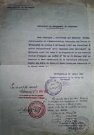 G 11  Document état Des Alaouites Municipalité De Lattaquie - Lettres & Documents