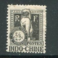 INDOCHINE- Taxe Y&T N°31- Neuf Avec Charnière * - Portomarken