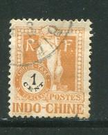 INDOCHINE- Taxe Y&T N°33- Oblitéré - Portomarken