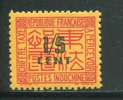 INDOCHINE- Taxe Y&T N°57- Neuf Avec Charnière * - Portomarken