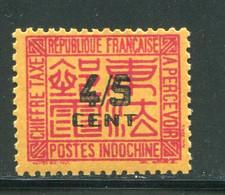 INDOCHINE- Taxe Y&T N°59- Neuf Avec Charnière * - Portomarken