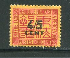 INDOCHINE- Taxe Y&T N°59- Neuf Sans Charnière ** - Portomarken