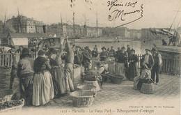 Debarquement Oranges à Marseille  Envoi à Notaire Cinquin St Georges De Reneins Rhone - Mercanti
