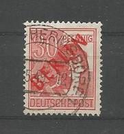 Berlin 1948 Definitives Red Overprint  Y.T. 11 (0) - Gebraucht