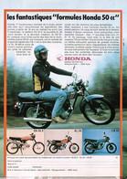 Publicité Papier MOTO HONDA SS50Z XL50 CB50 1977 SP1053081 - Werbung