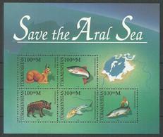 1996. Turkmenistan. Save The Aral Sea..Mi. Bl.6. MNH - Turkmenistan