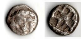 PARION Drachme GORGONE Vers 480 Av JC - Grecques