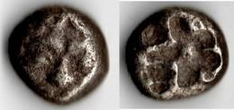 PARION Drachme GORGONE Vers 480 Av JC - Greche
