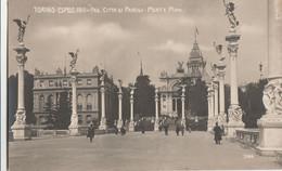 Cartolina - Postcard    Viaggiata - Sent    Torino - Esposizione 1911 - Pad. Città Di Parigi. Tipo Foto - Ausstellungen