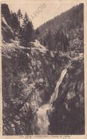 CARTOLINA  MADESIMO,SONDRIO.LOMBARDIA,VALLE SPLUGA,CASCATA DEL CATINO,BELLA ITALIA,STORIA,MEMORIA,VIAGGIATA 1928 - Sondrio