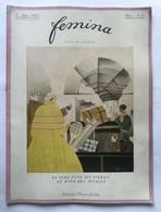 Femina Revue (juin 1921) Couv. Illustrée Par Charles Martin MODE, COSTUME - Art