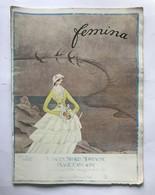 Femina Revue (juin 1920) Couv. Illustrée Par Charles Martin MODE, COSTUME - Art