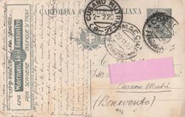 Intero Postale Pubblicitario Viaggiato  - Watermans - L'uomo Pratico. - Entiers Postaux