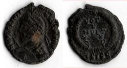 JULIEN II (361 363) BUSTE AVEC CASQUE LANCE ET BOUCLIER - 7. L'Empire Chrétien (307 à 363)
